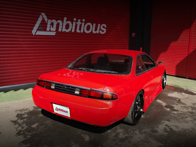 REAR EXTERIOR S14 ONEVIA RED