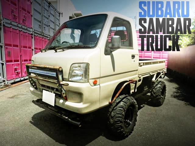 LIFTED SUBARU SAMBAR TRUCK