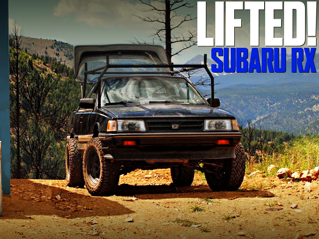 LIFTED SUBARU RX TURBO