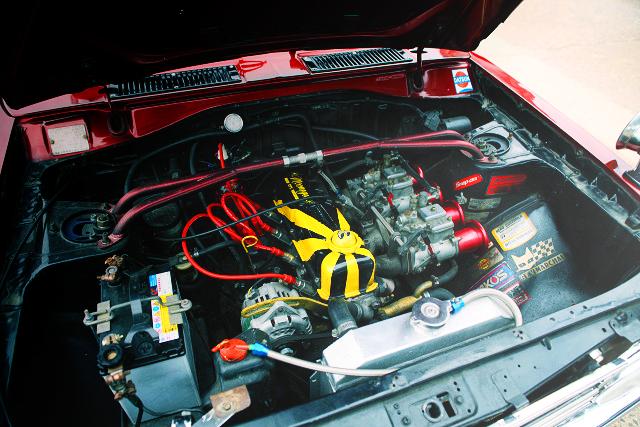 OER CARBURETOR OF A12 ENGINE