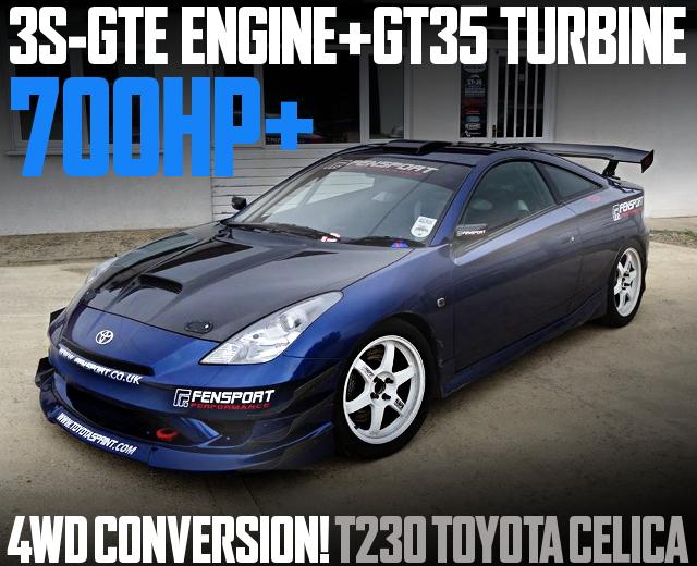 3S-GTE TURBO 4WD T230 CELICA