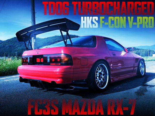 TD06 TURBO V-PRO FC3S RX-7