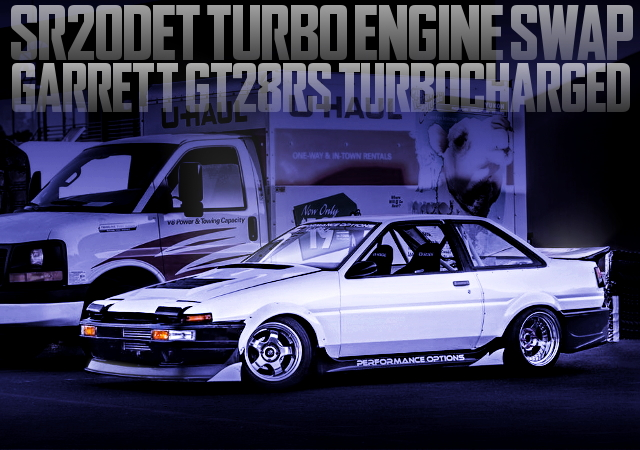 SR20DET USA MODEL AE86 COROLLA 2-DOOR