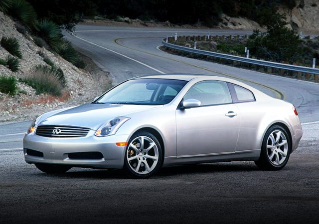 V36 INFINITI G35 COUPE FRONT