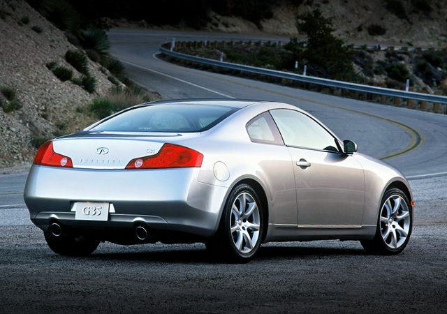 V36 INFINITI G35 COUPE REAR