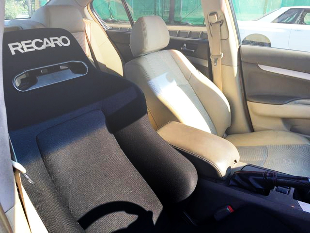 RECARO SEAT DRIVER