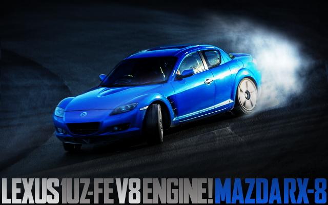 LEXUS 1UZ V8 SWAP MAZDA RX-8