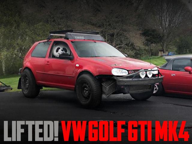 LIFTED VW GOLF GTI MK4