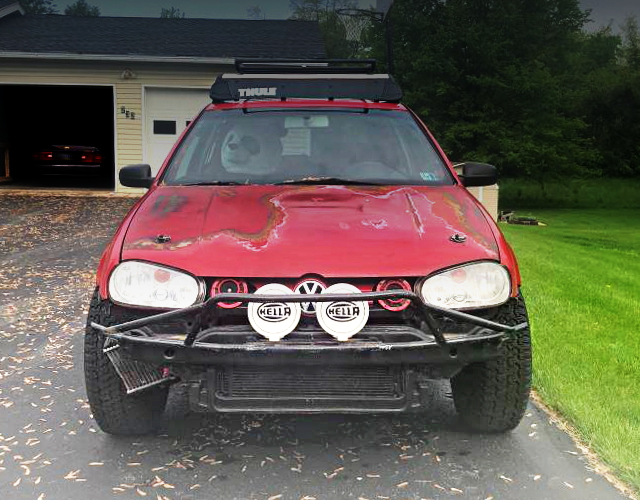 FRONT FACE LIFTED GOLF MK4