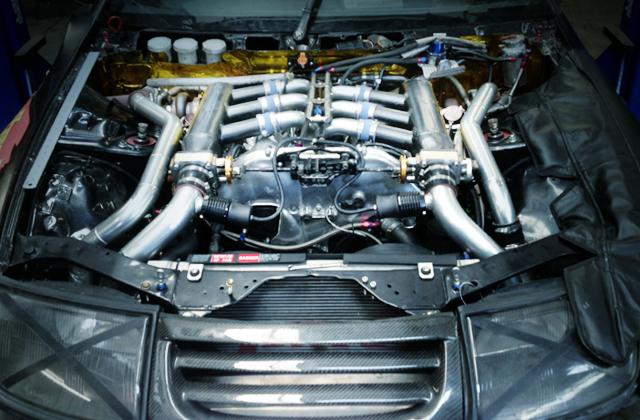 VQ35 TWINTURBO ENGINE