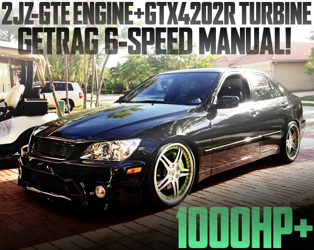 2JZ GTX4202R TURBO 1000HP LEXUS IS300