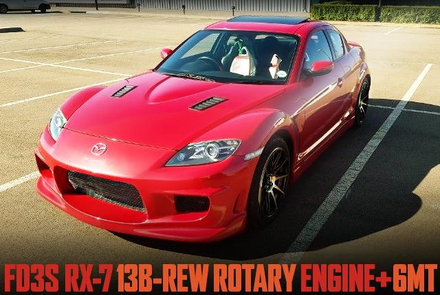 13B-REW ROTARY SWAP RX-8