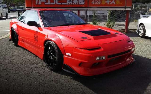 FRONT FACE 180SX WIDEBODY RED