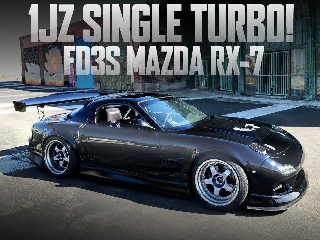 1JZ-GTE SWAP WIDEBODY FD RX-7