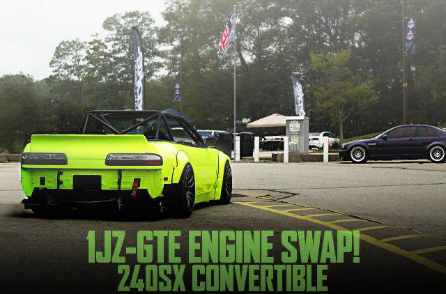 1JZ SWAP S13 240SX CONVERTIBLE