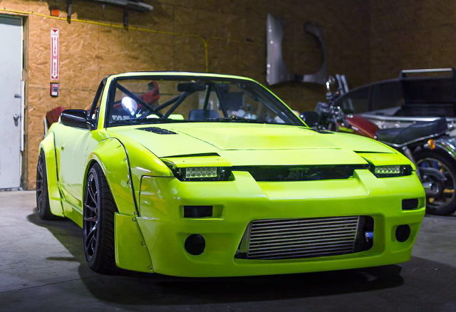 FRONT FACE S13 240SX CONVERTIBLE