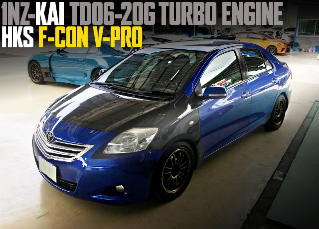 BOOSTED 1NZ TOYOTA VIOS