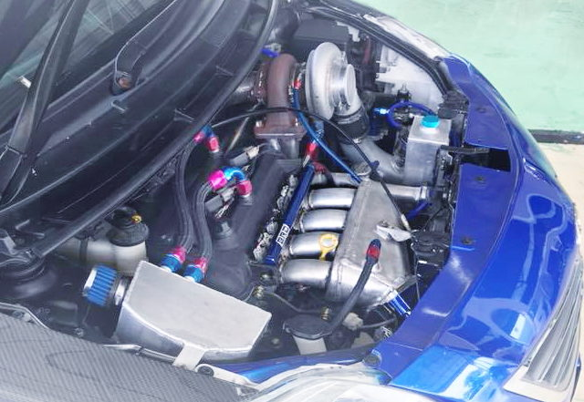 1NZ TD06 20G TURBO ENGINE