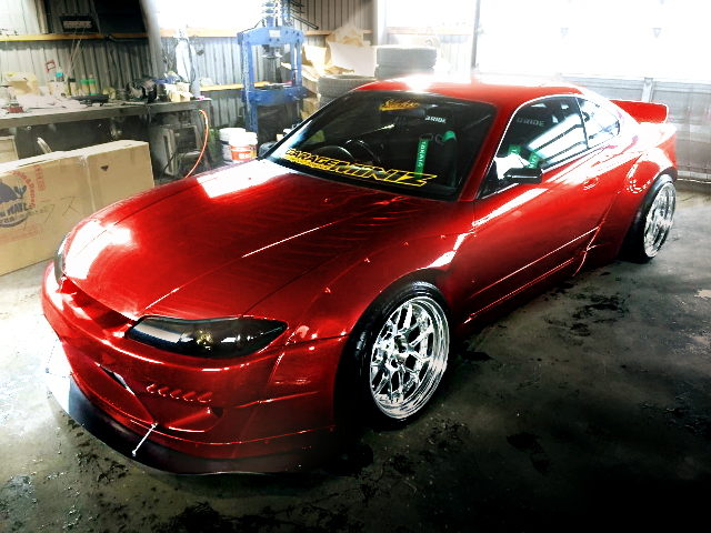 FRONT EXTERIOR V8 TWINTURBO S15 SILVIA