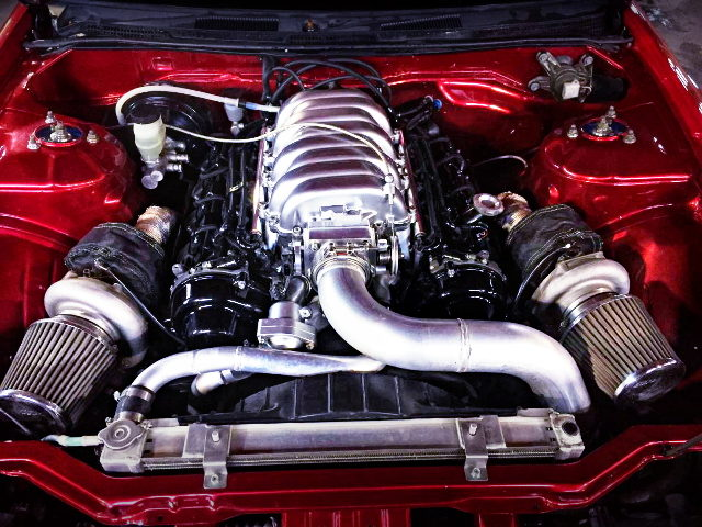 1UZ-FE VVT-i TWINTURBO ENGINE