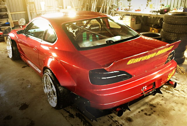 REAR EXTERIOR S15 SILVIA RED COLOR