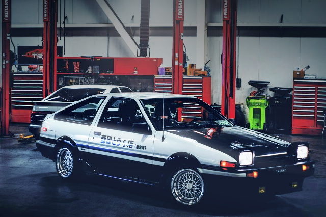 FRONT EXTERIOR AE86 COROLLA SR5
