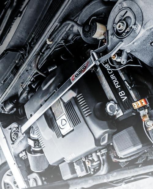 1UZ 4000cc V8 ENGINE SWAP