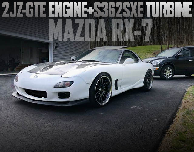 2JZ-GTE ENGINE FD3S MAZDA RX-7