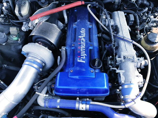 2JZ-GTE ENGINE T78 SINGLE TURBO