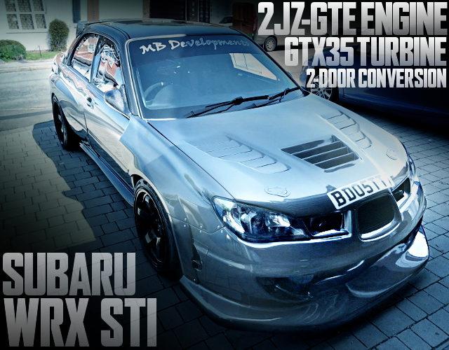 2JZ-GTE ENGINE GDB WRX STI