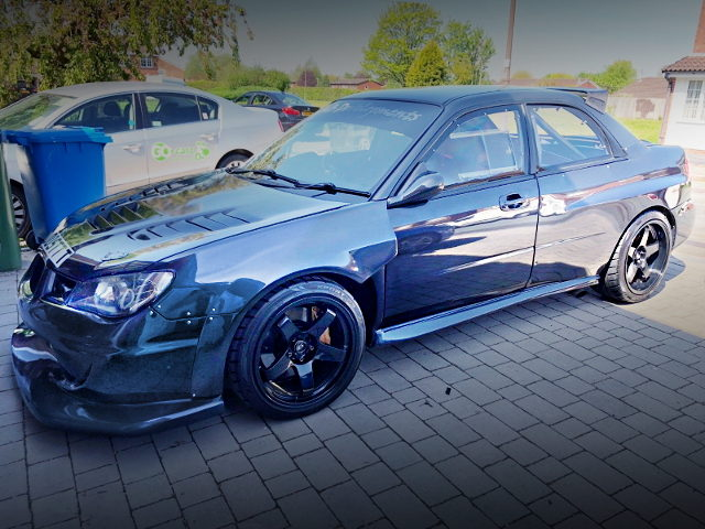 2-DOOR CONVERSION GDB WRX STI