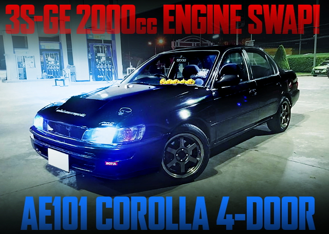 3S-GE SWAP AE101 COROLLA SEDAN