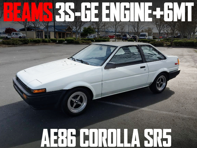 3S-GE BEAMS ENGINE AE86 COROLLA SR5