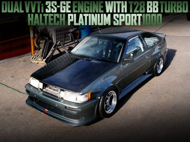 3SGE TURBO ENGINE AE86 SPRINTER