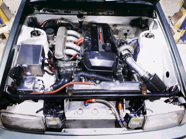 DUAL VVTi 3SGE WITH TURBO