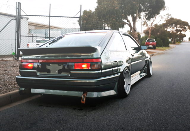 REAR EXTERIOR AE86 SPRINTER