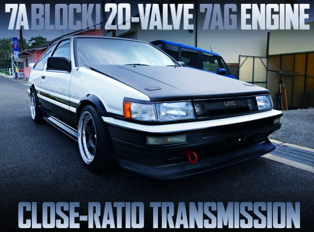20 VALVE 7AG ENGINE AE86