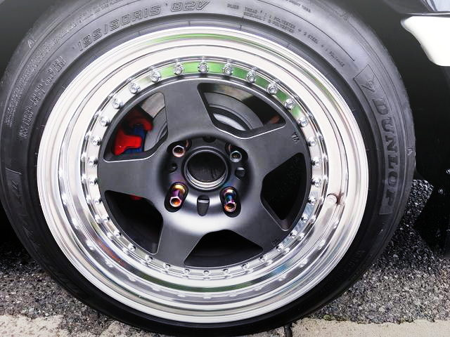 AE86 REAR WORK CR01 WHEEL