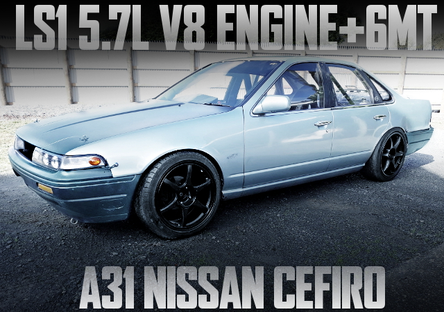LS1 V8 ENGINE A31 CEFIRO