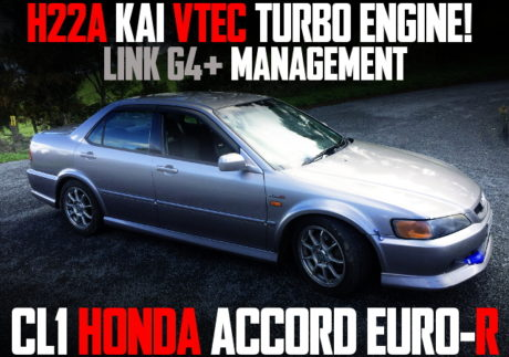 H22A VTEC TURBO ACCORD EURO-R