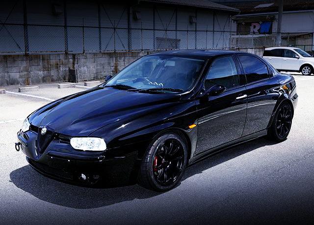 FRONT EXTERIOR ALFA ROMEO 156 BLACK