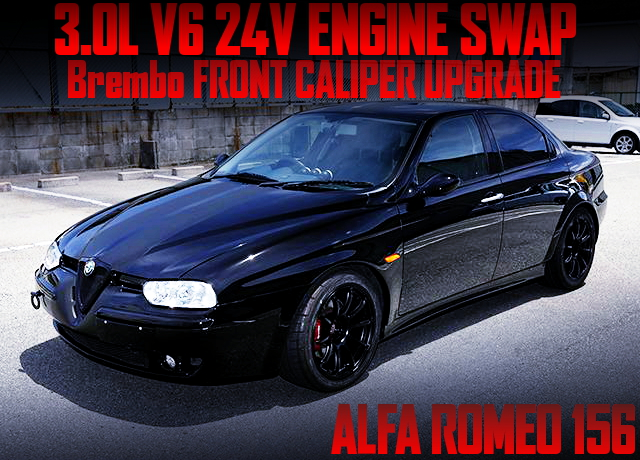 3000cc V6 24V ENGINE SWAP ALFA ROMEO 156