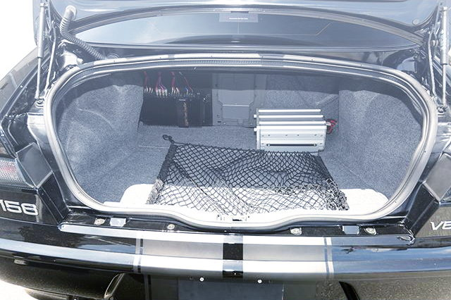 ALFA ROMEO 156 OF TRUNK ROOM