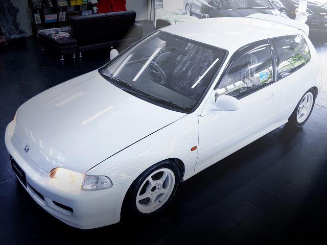 FRONT EXTERIOR EG6 CIVIC WHITE