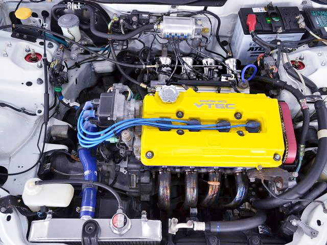 B16 VTEC ENGINE WITH ITBs