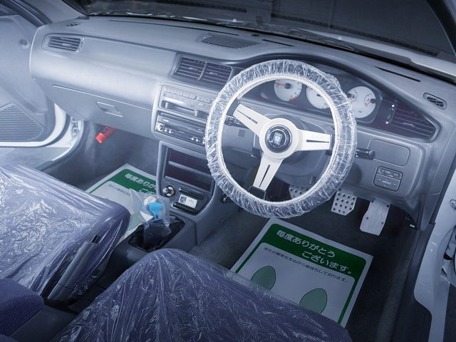 INTERIOR EG6 CIVIC SiR2
