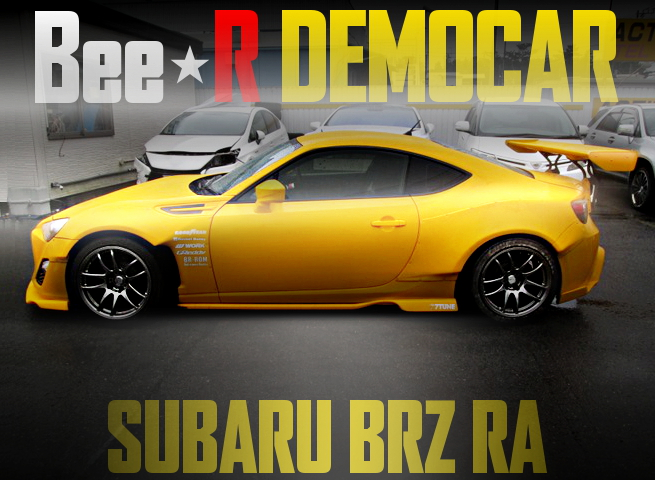 BEE RACING DEMOCAR SUBARU BRZ