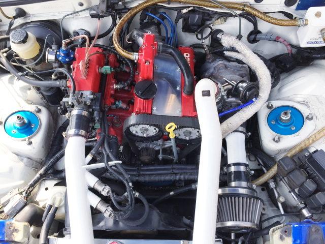 F6A TWINCAM TURBO ENGINE