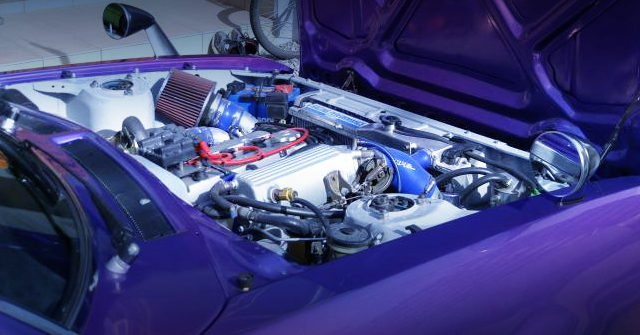 TA27 CELICA LB ENGINE ROOM