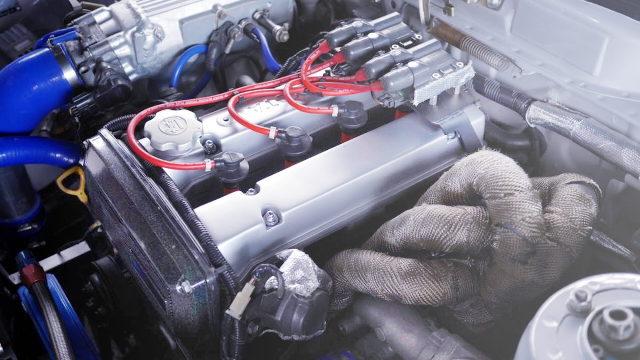 16-VALVE 4AG TURBO ENGINE